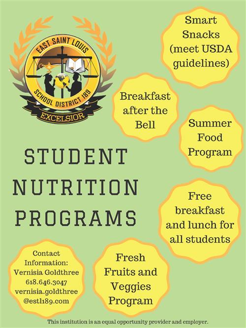 District 189 Nutrition Programs